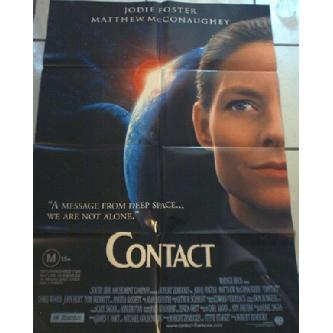 Contact Poster - Jodie Foster, Matthew McConaughey Image