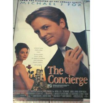 The Concierge - Michael J Fox, Gabrielle Anwar VGC Image